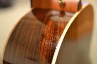 Flame maple binding